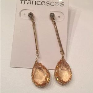 Ladies Drop Earrings NWT Francesca's